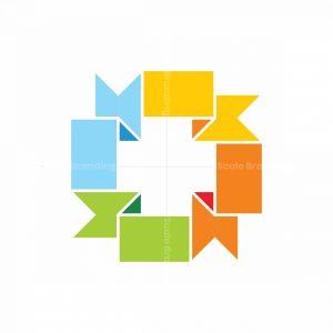 Cross Flags Logo