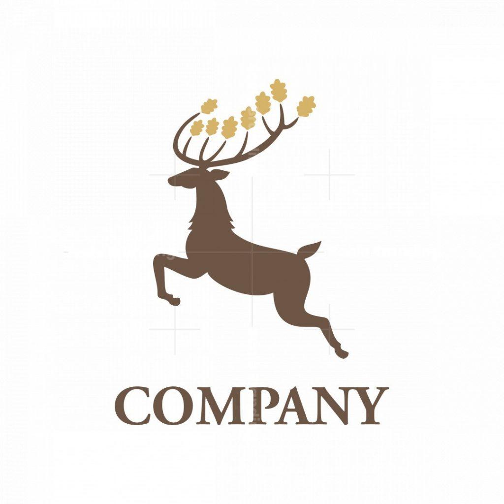 Oak Deer Logo