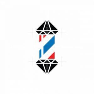 Diamond Barber Logo