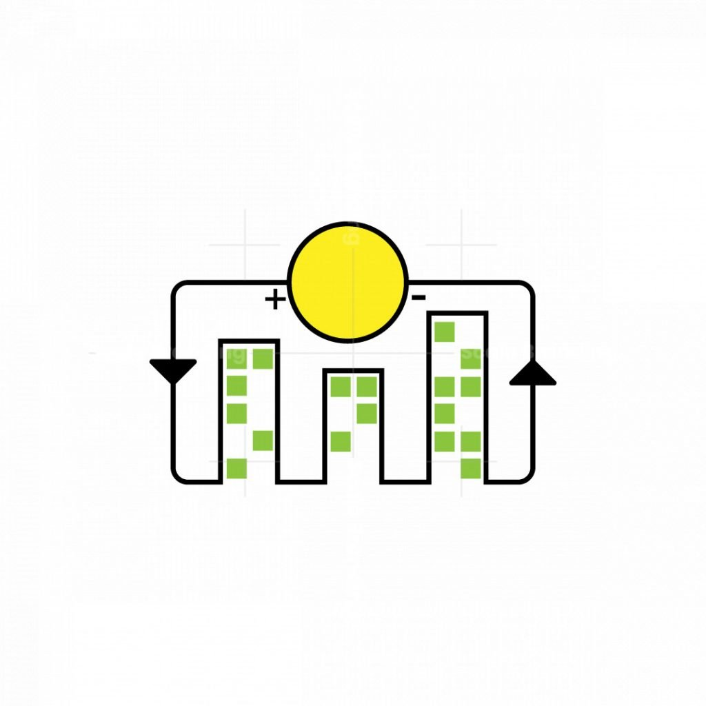 Green And Eco-friendly Real Estate Logo