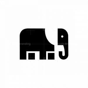 Elephant Icon Logo