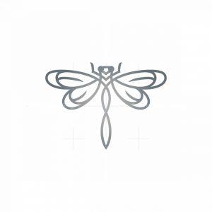 Flying Dragonfly Logo