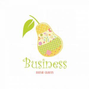 Fresh Pear Crafts Symbol Logo