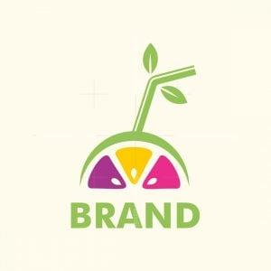 Fresh Fruit Juice Logo