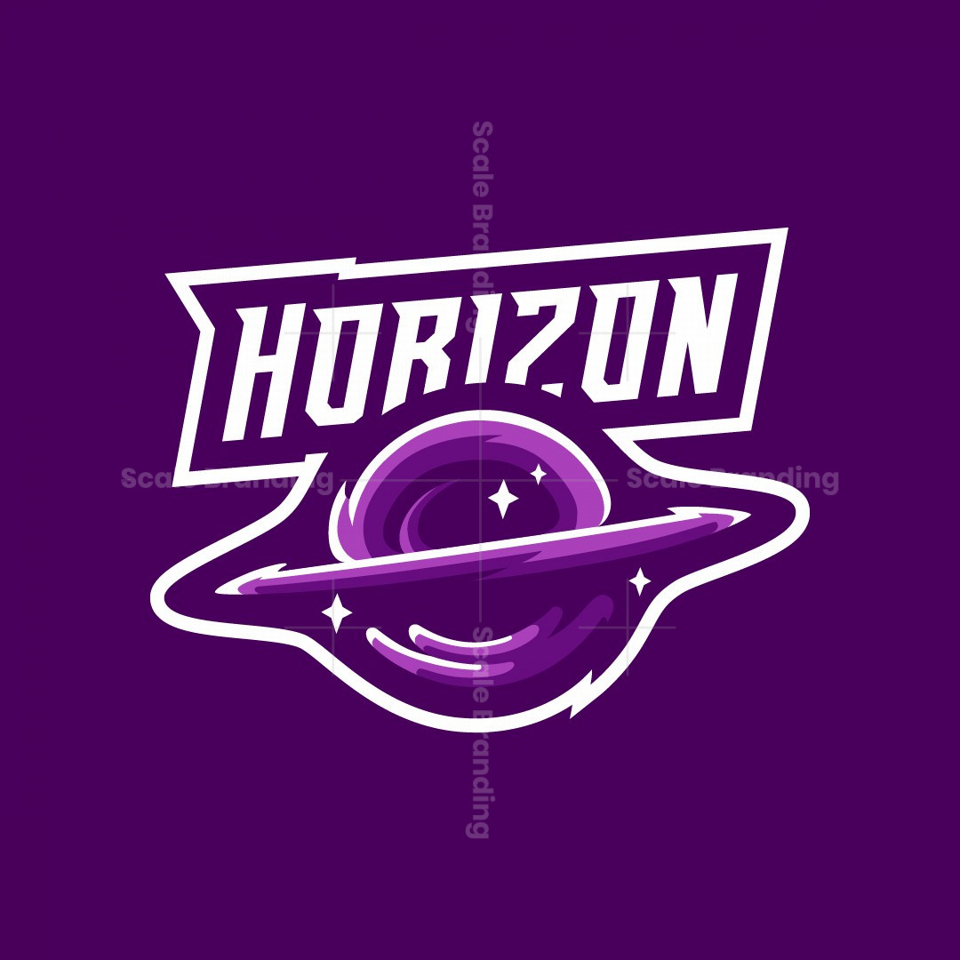 Black Hole Esports Mascot Logo Design – Horizon