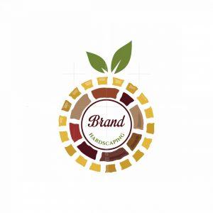 Garden Hardscaping Symbol Logo