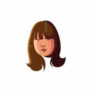 Girl/woman Mascot Logo