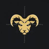 Goat Vector Animal Logo