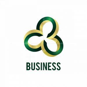 Golden Rings 3d Logo