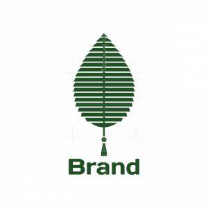 Green Blinds Symbol Logo