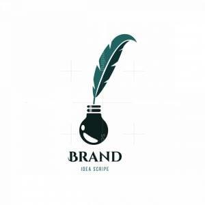 Idea Scribe Symbol Logo