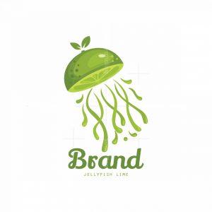 Jellyfish Lime Symbol Logo
