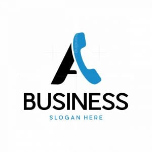 Letter A Phone Logo