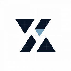 Letter Xh Logo