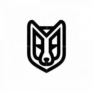 Wolf Head Logo Black Wolf Logo