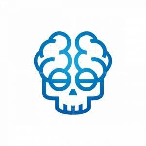 Medical Mind Skull Logo