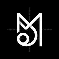 Letter Mj Or Jm Monogram Logo