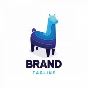 Modern Llama Logo