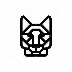 Black Wolf Head Logo Wolf Logo