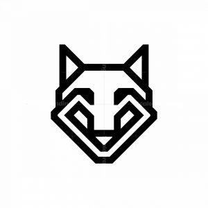 Black Wolf Logo Wolf Head Logo