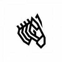 Zebra Logo Zebra Head Logo