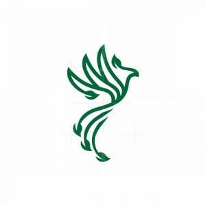 Leaf Leaves Phoenix Logo