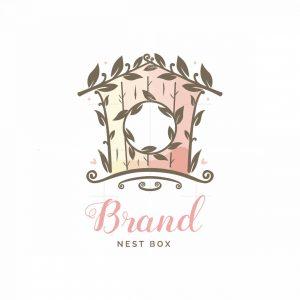 Nest Box Symbol Logo