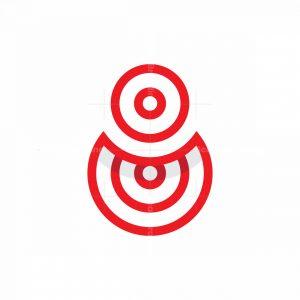 Number 8 Logo