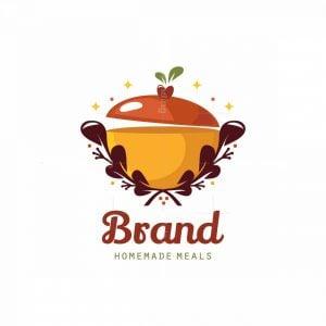Organic Food Symbol Logo