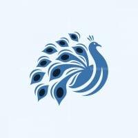 Beauty Peacock Logo