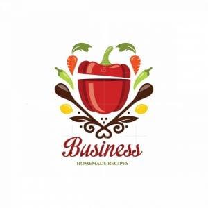 Pepper Pot Homemade Recipes Symbol Logo