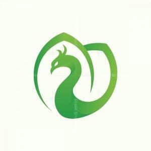 Phoenix Leaf Nature Logo