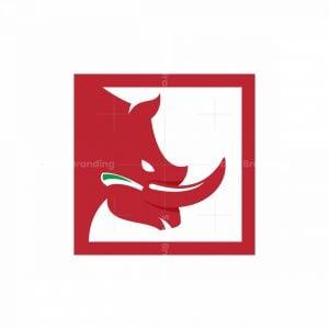 Pepper Rhino Icon Logo