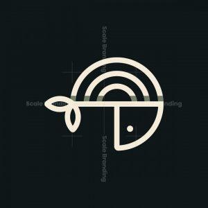 Monoline Fish Logo
