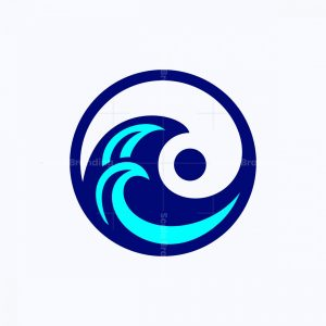 Yingyang Wave Logo