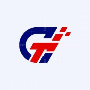 Letter Gt Race Logo