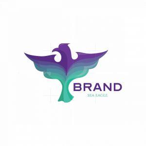 Sea Eagle Symbol Logo