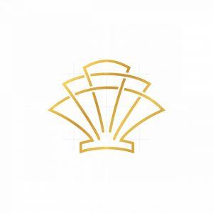 Modern Shell Symbol Logo