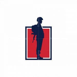 Soldier Icon Logo