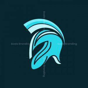 Head Spartan Modern Logo