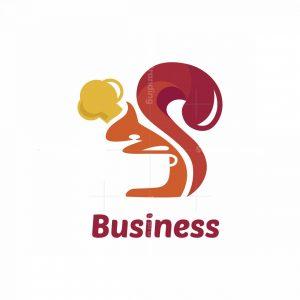 Squirrel Chef Symbol Logo