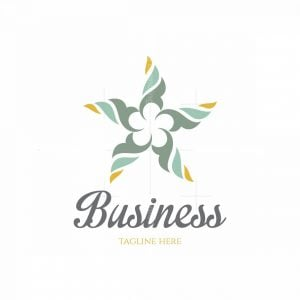 Star Flower Sample Logo