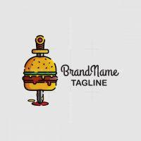 Savage Burger Logo