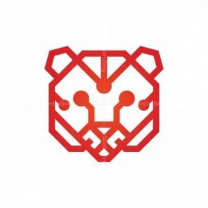 Cyber Technology Tiger Logo