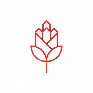 Town Flower Logo