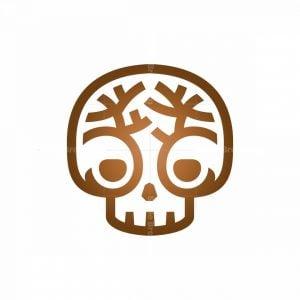 Nature Tree Skull Logo