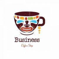 Tribal Cafe Symbol Logo