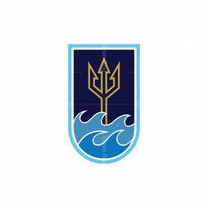 Trident Of Sea Logo