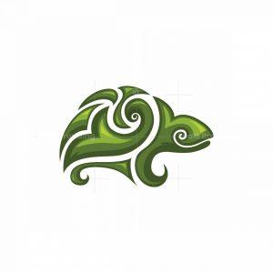 Decorative Turtle Symbol Logo