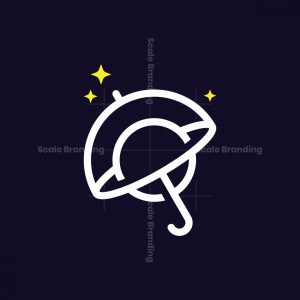 Umbrella Planet Logo